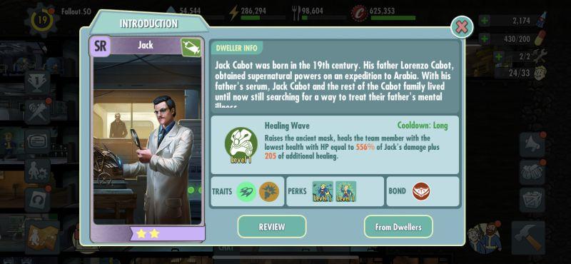 jack fallout shelter online