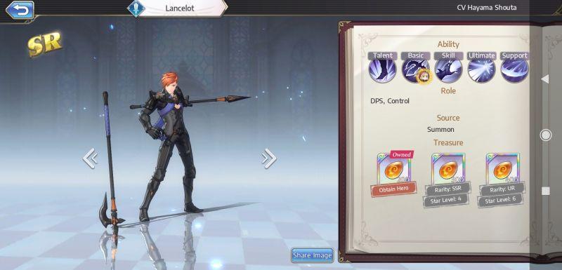 lancelot goddess of genesis