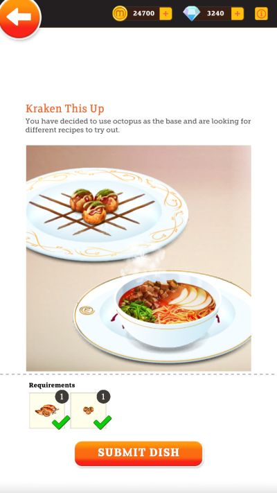 how to complete a dish in masterchef dream plate