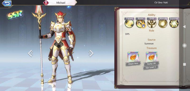 michael goddess of genesis