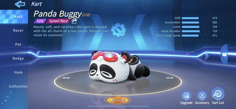 panda buggy kartrider rush+