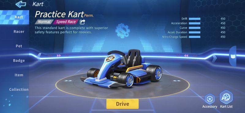 practice kart kartrider rush+