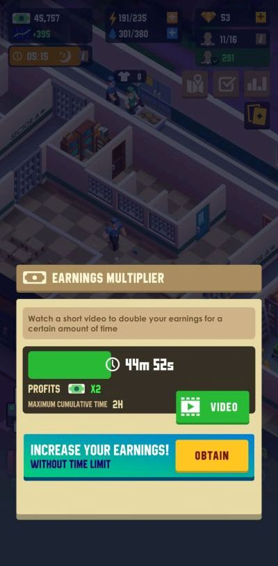 how to collect more cash in prison empire tycoon