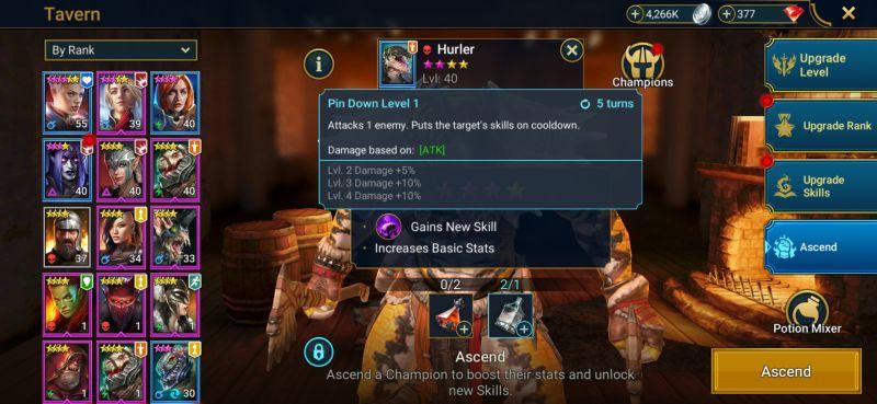 raid shadow legends ascension