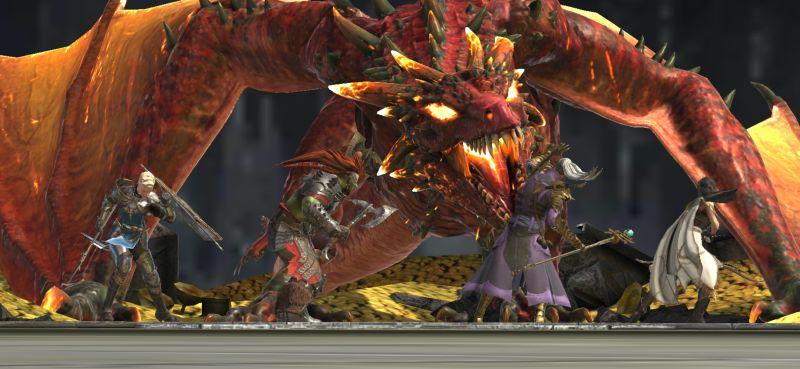 raid shadow legends dragon