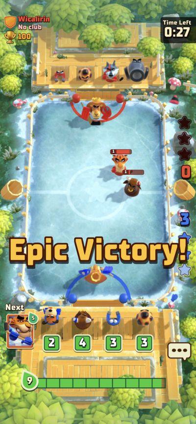 rumble hockey epic victory