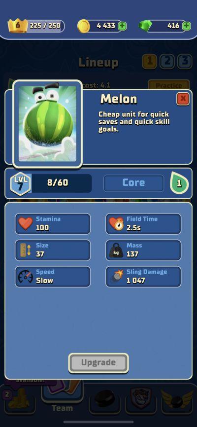 rumble hockey melon