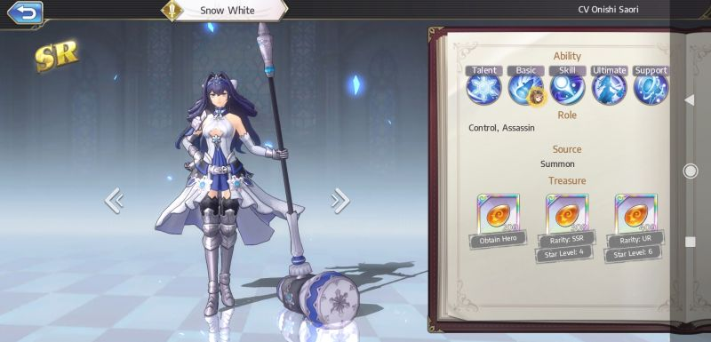 snow white goddess of genesis