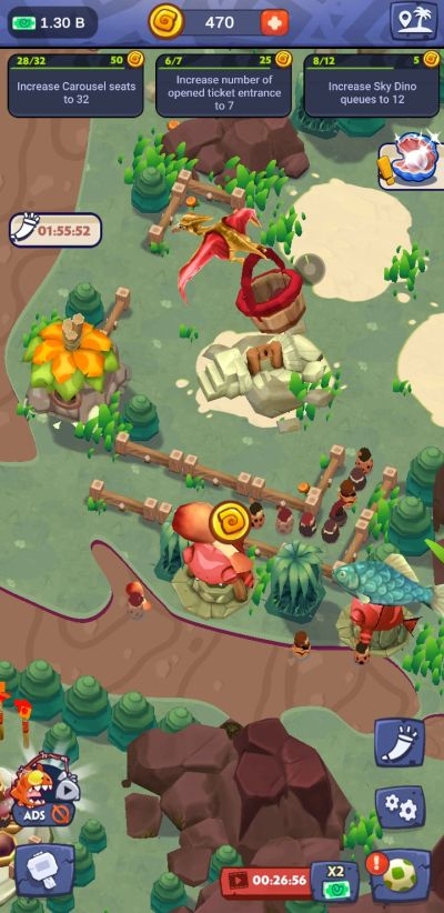 how to get more gold coins in stone park prehistoric tycoon