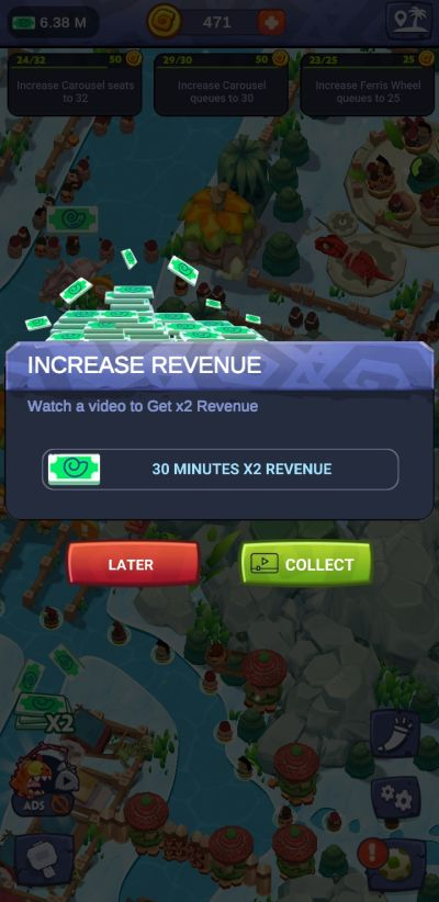 how to increase earnings in stone park prehistoric tycoon