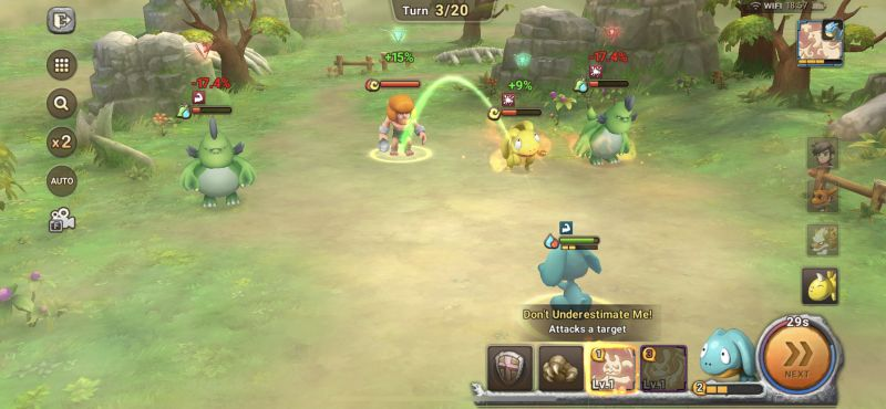 elemental advantage in stoneage world