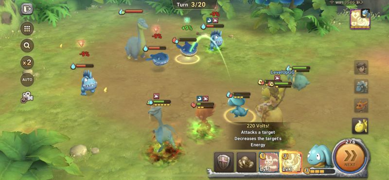 how to fight manually in stoneage world