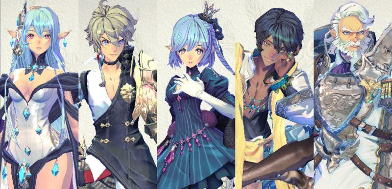 story mode team 1 in exos heroes