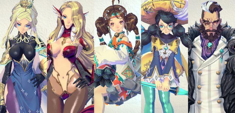story mode team 2 in exos heroes