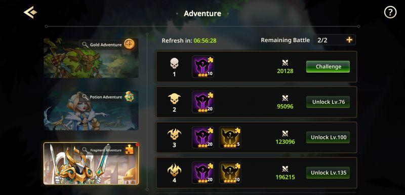 summoners era adventure