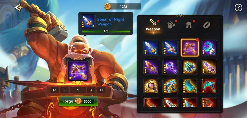 summoners era blacksmith and black market