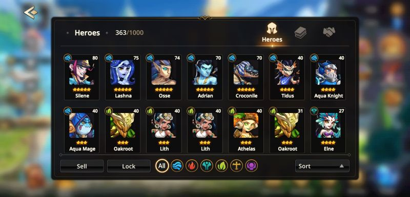 how to build a team in summoners era
