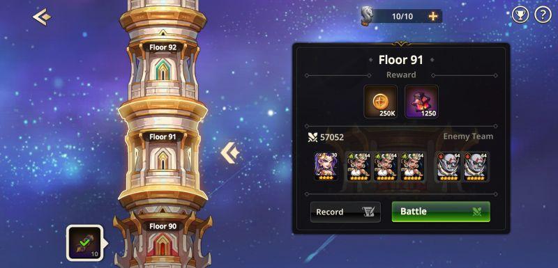 summoners era dragon tower