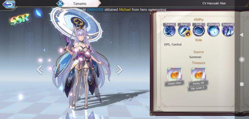 tamamo goddess of genesis