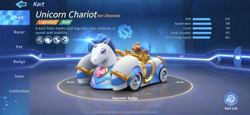 unicorn chariot kartrider rush+
