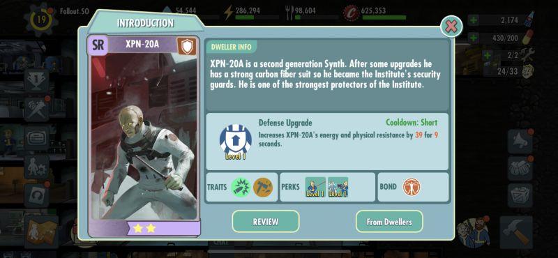 xpn-20a fallout shelter online