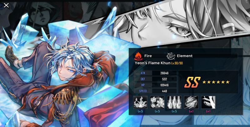 yeon's flame khun hero cantare