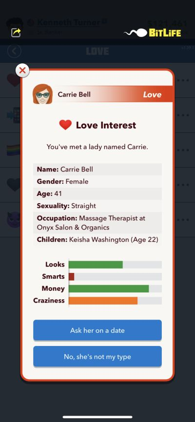 love interest in bitlife