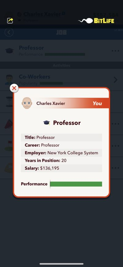 how to become a professor in bitlife