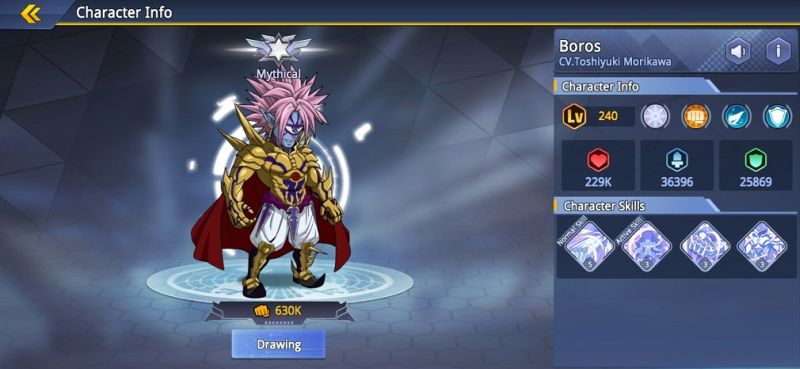 boros one punch man road to hero 2.0