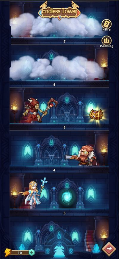 brave dungeon endless tower