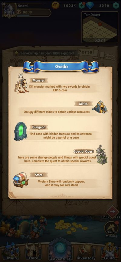 brave dungeon guide