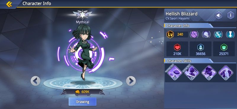 hellish blizzard one punch man road to hero 2.0