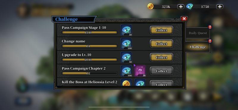 idle arena evolution legends challenge