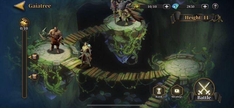 idle arena evolution legends gaiatree