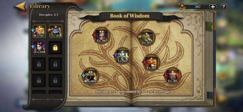 idle arena evolution legends library