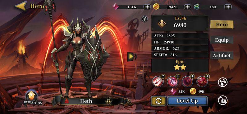 idle arena evolution legends skills