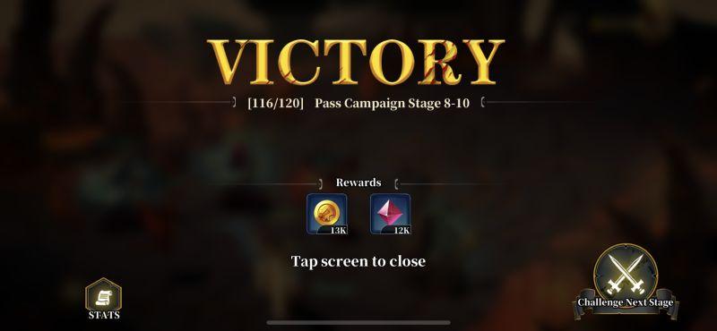 idle arena evolution legends victory