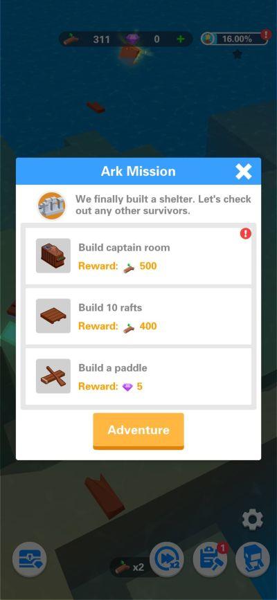 idle arks ark mission