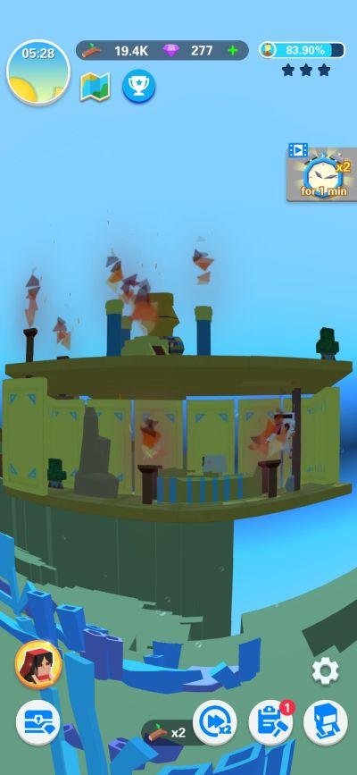 idle arks submarine