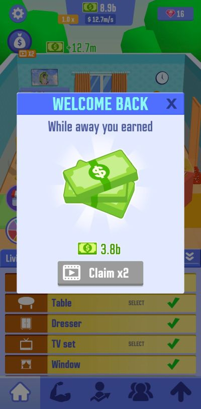 how to earn more cash rewards in idle success