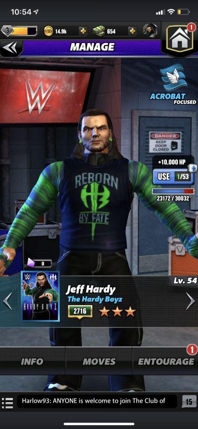 jeff hardy wwe champions 2020