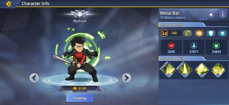 metal bat one punch man road to hero 2.0