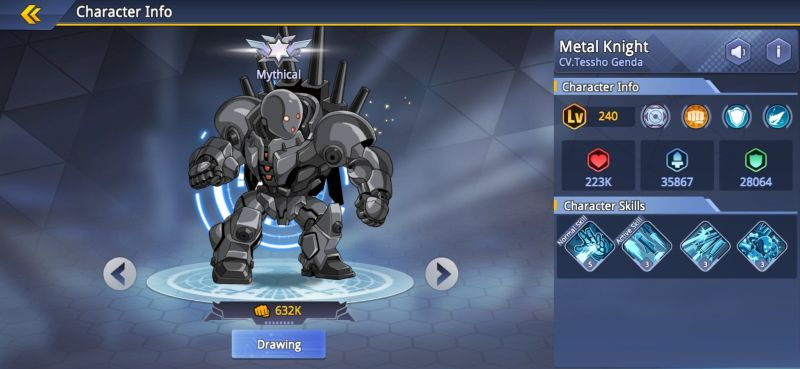 metal knight one punch man road to hero 2.0