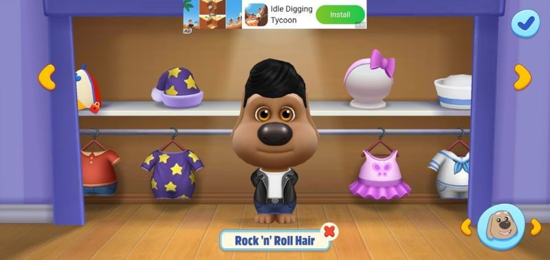 how to customize pet look in my talking tom friends