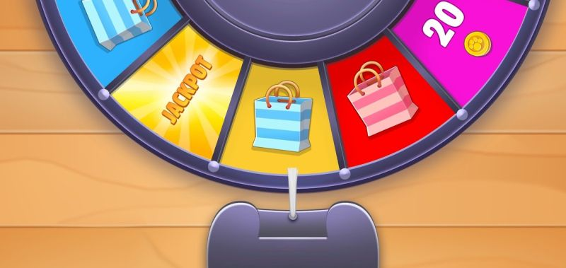 spinning the wheel in my talking tom friends