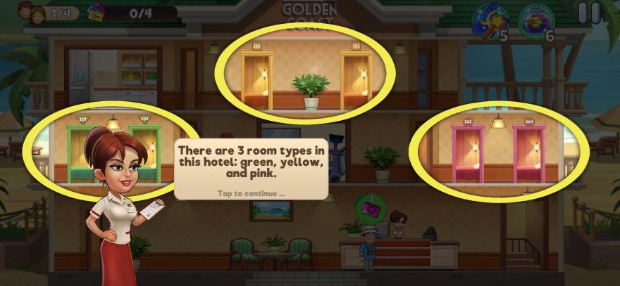 room types in doorman story