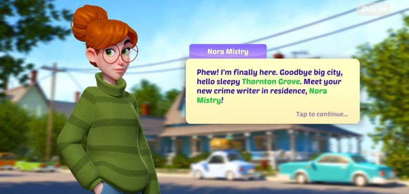 small town murders nora mistry