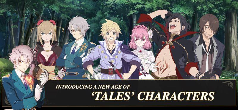 tales of crestoria characters