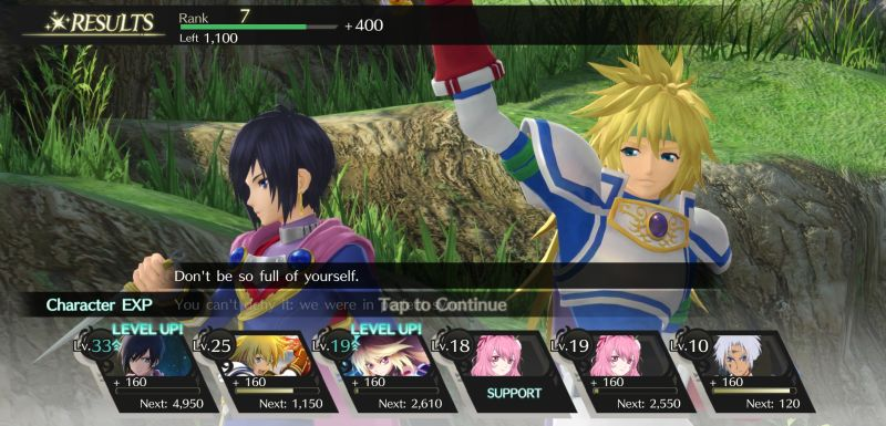 how to progress with the story fast in tales of crestoria