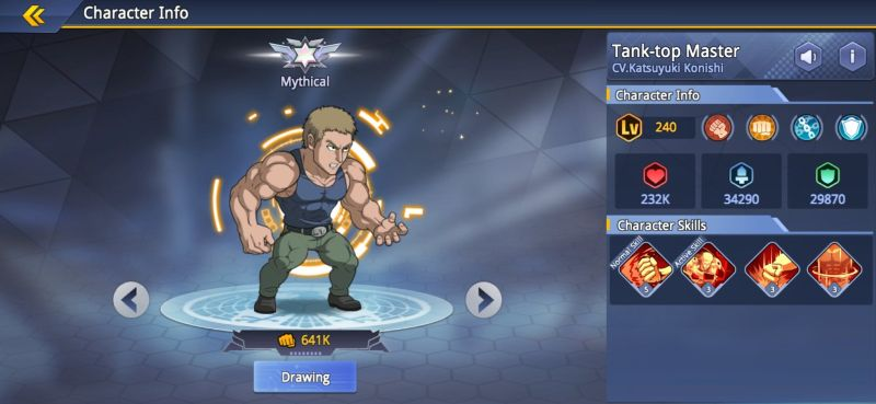 tank-top master one punch man road to hero 2.0